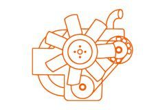 Kubota Z432 2-Zylinder Diesel motor