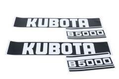 Aufklebersatz Motorhaube Kubota B5000
