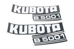 Aufklebersatz Motorhaube Kubota B5001