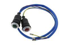 Kontrollleuchten Öl und Batterie Ford / New Holland Dexta, Super Dexta