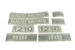 Typenschild David Brown